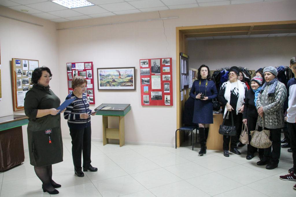 В Антраците ко Дню освобождения города от немецко-фашистских захватчиков и Дню защитника Отечества открыли выставку 2
