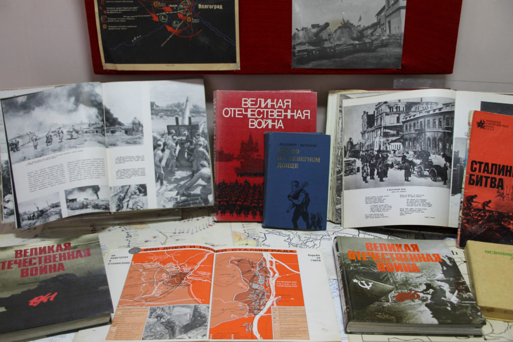 В Антраците ко Дню освобождения города от немецко-фашистских захватчиков и Дню защитника Отечества открыли выставку 4