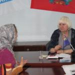 Депутат Народного Совета ЛНР Светлана Гизай провела приём в Славяносербске