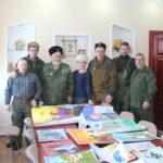 В Славяносербске подвели итоги конкурса рисунков «Казаки – на страже Родины»