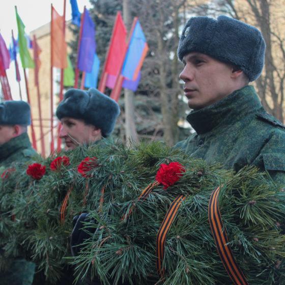 Жители Славяносербщины почтили память воинов-интернационалистов 1