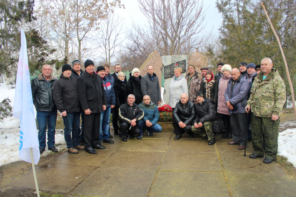 Жители Славяносербска почтили память воинов-интернационалистов 9