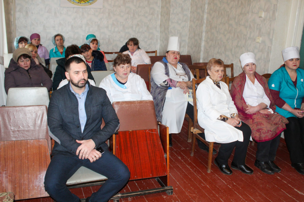 В Зимогорье состоялась встреча с коллективом  городской больницы 2