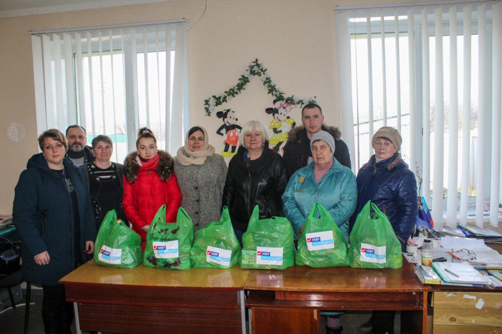 В Славяносербском районе помогли семьям погибших и пострадавших военнослужащих 5