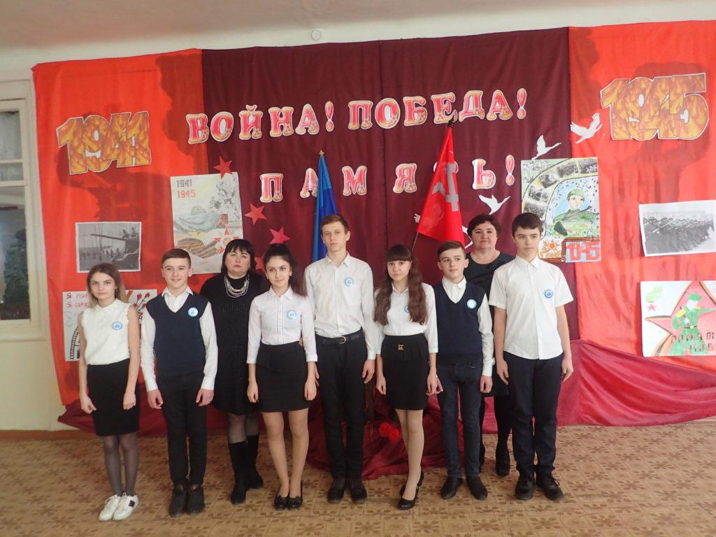 В Краснодоне продолжилась акция «Эстафета Победы» 2
