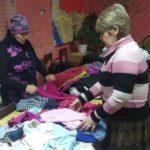 Жители Стаханова получили помощь от проекта «Волонтёр» Общественного движения «Мир Луганщине»
