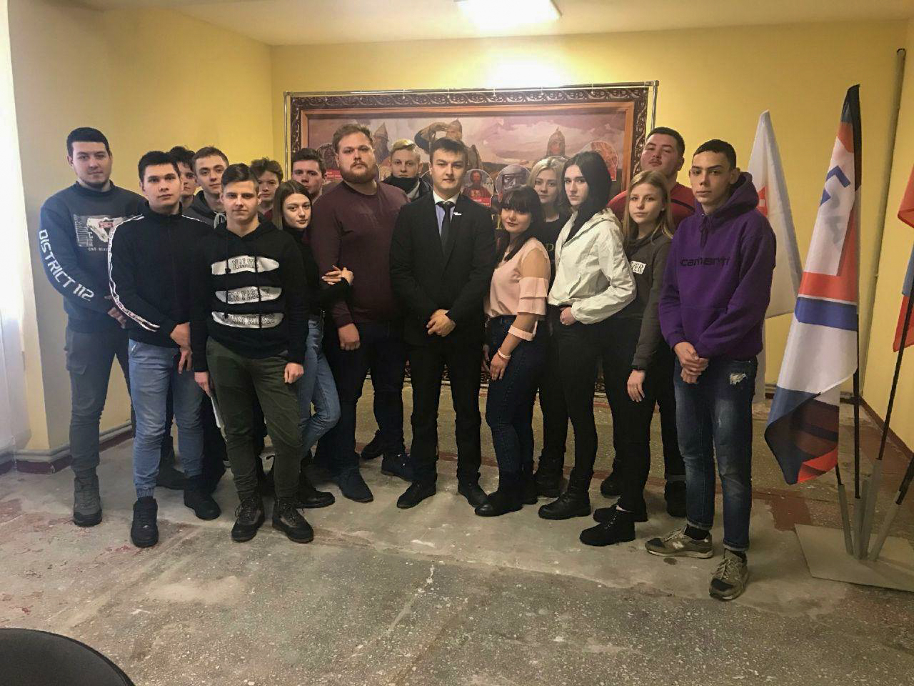 В Стаханове состоялся тренинг для активистов проекта «Молодая Гвардия» «Диалог на равных» 2