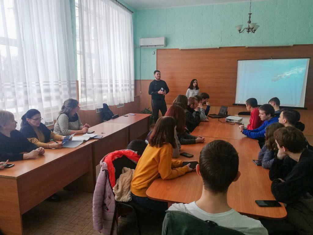 В Стахановском техникуме состоялось открытие первичного отделения проекта «Дружина» 1