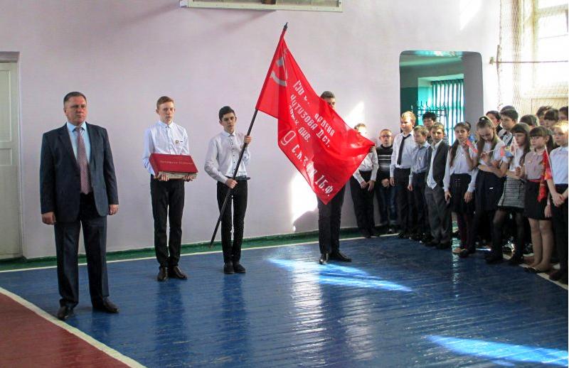 В Краснодоне состоялась акция «Эстафета Победы» 2