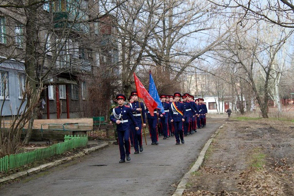 В Алчевске состоялась акция «Салют ветерану» 1