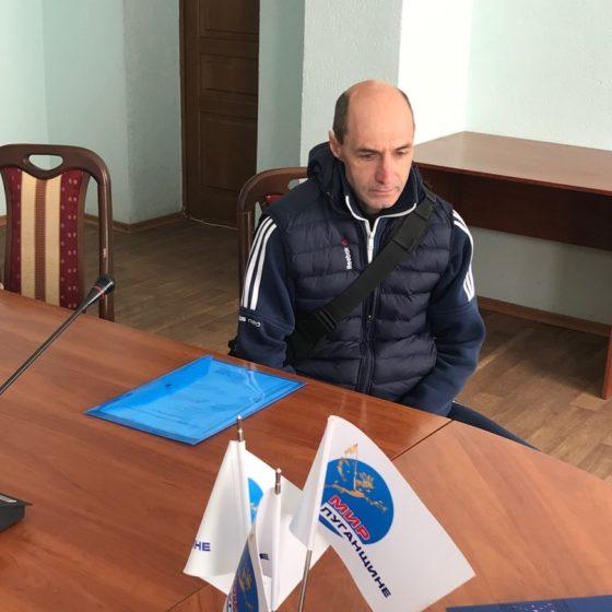 В Краснодоне состоялся приём представителя МВД ЛНР 2