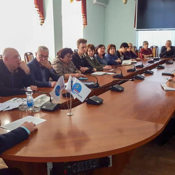 В Краснодоне состоялось расширенное заседание Совета теротделения ОД «Мир Луганщине» 2