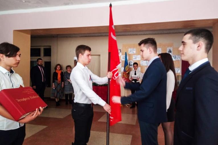 Акция «Эстафета Победы» продолжается в школах Краснодона 1