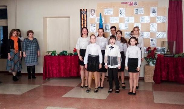 Акция «Эстафета Победы» продолжается в школах Краснодона 2