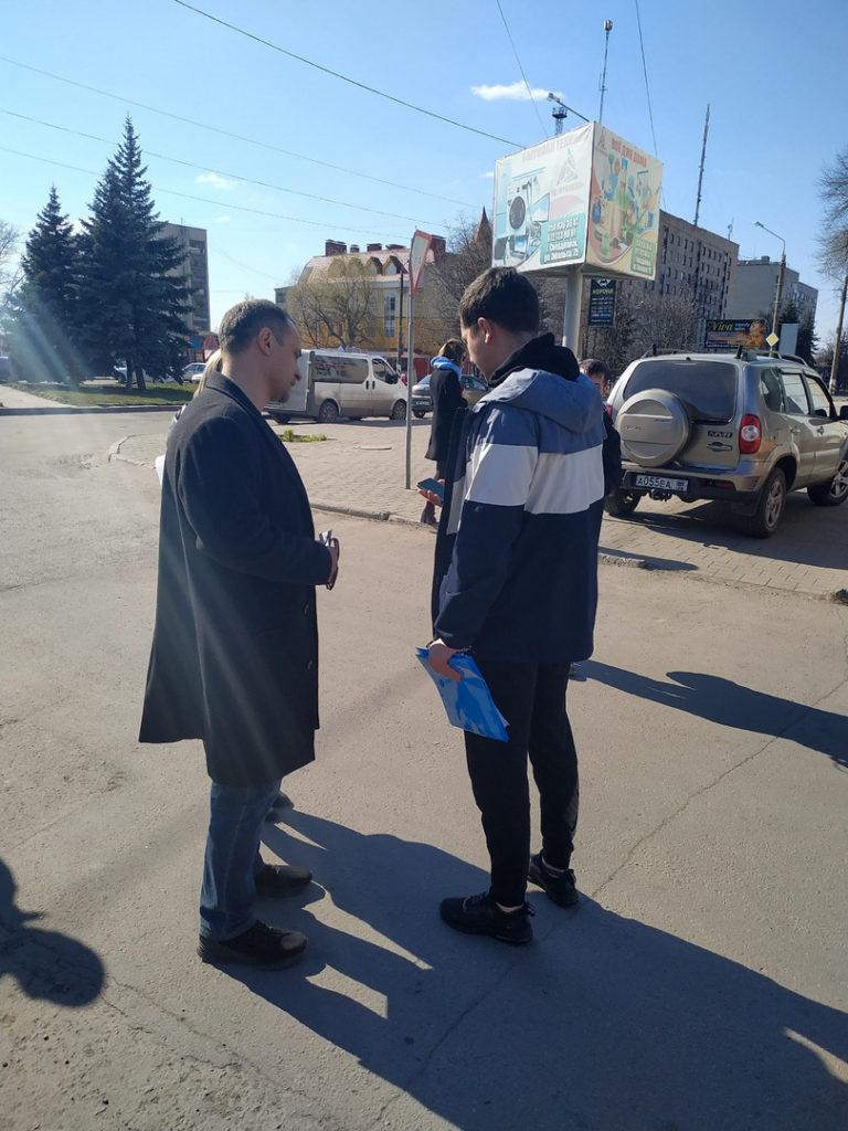 В городах ЛНР провели акцию «Стоп наркотик!» 2
