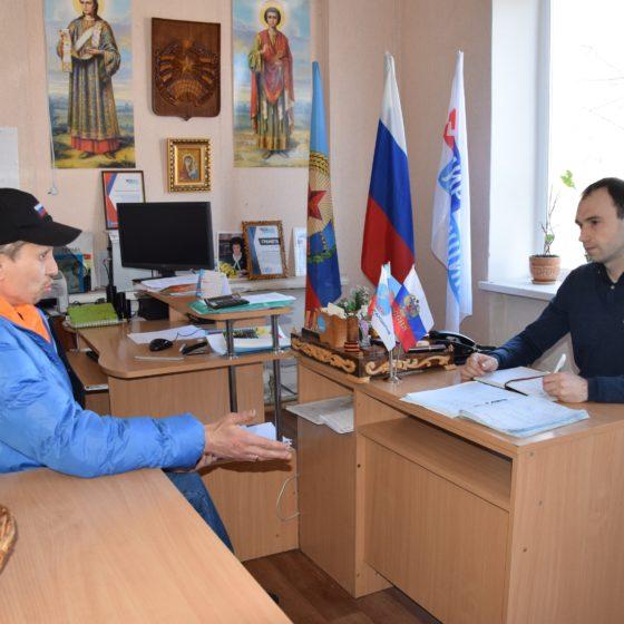 Депутат Молодежного парламента ЛНР провёл приём граждан Красном Луче