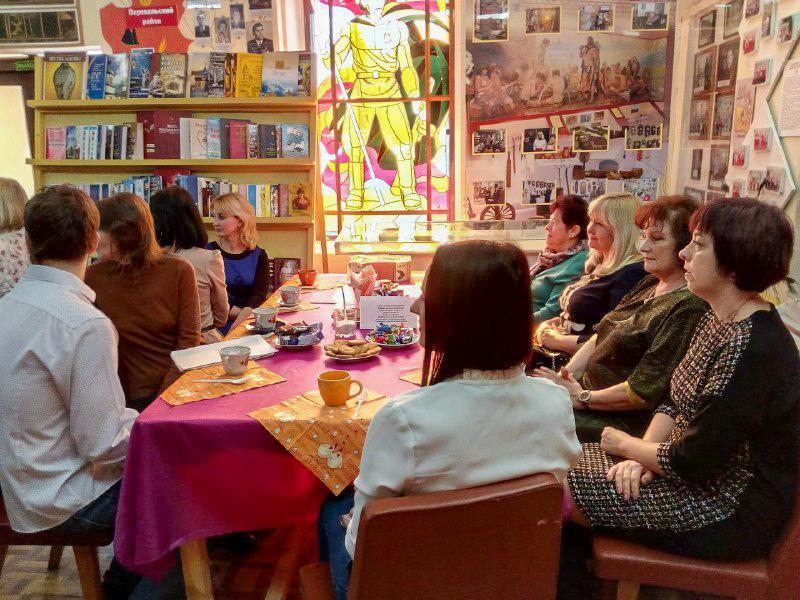 В Перевальске состоялись праздничные посиделки «Весеннее настроение» 2