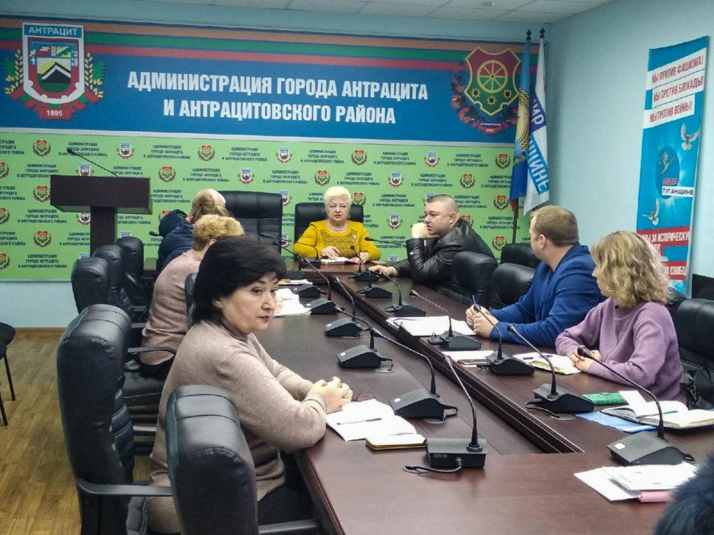 В Антраците прошел приём заместителя Главы Администрации города и района 1