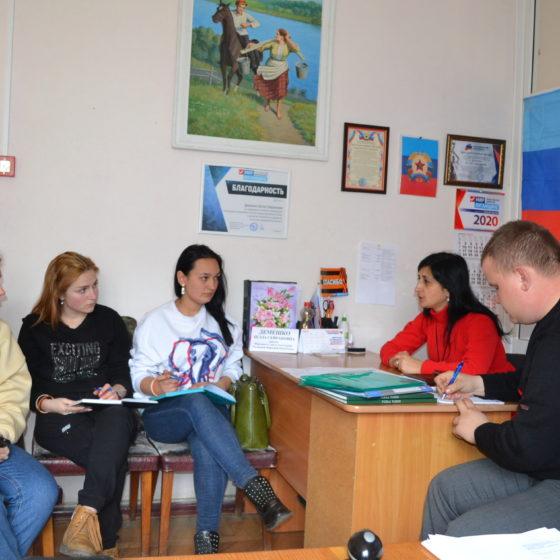 В Ровеньках прошла встреча депутатов Народного Совета и Молодежного Парламента ЛНР с представителями Молодежного Совета