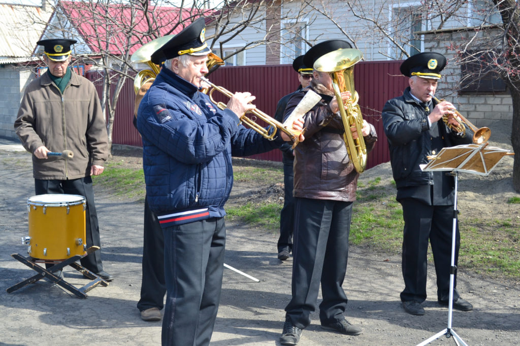 Чествование ветерана Великой Отечественной войны состоялось в Ровеньках 7