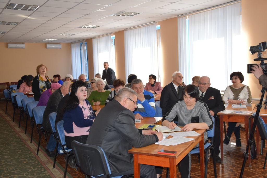В Красном Луче прошёл пленум городской общественной организации ветеранов 2