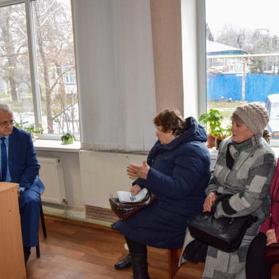В Красном Луче прошёл приём Сергея Рыбальченко