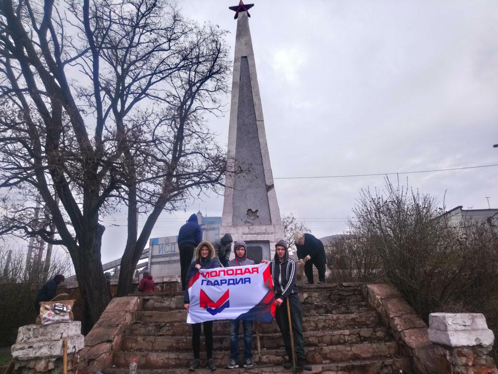 В Алчевске состоялась акция «Чистая память» 2