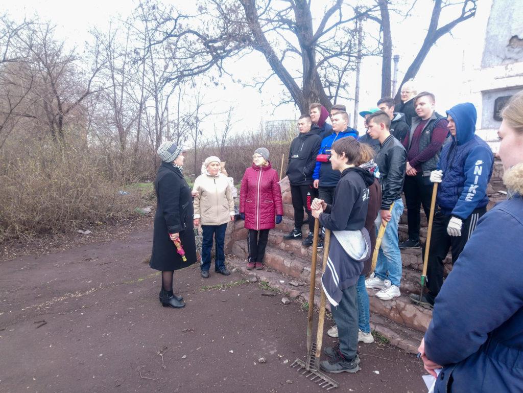 В Алчевске состоялась акция «Чистая память» 1