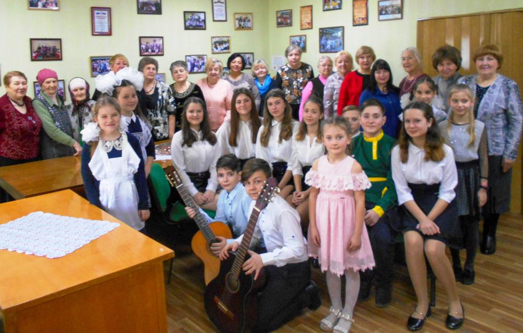 Встреча ветеранского актива состоялась в Славяносербске 4