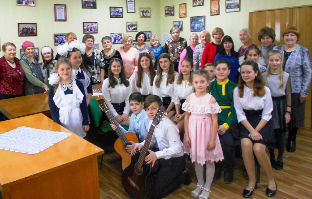 Встреча ветеранского актива состоялся в Славяносербске 4