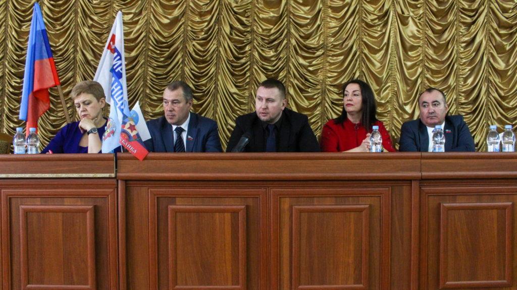 Депутаты Народного Совета ЛНР встретились с представителями органов самоорганизации Луганска 2