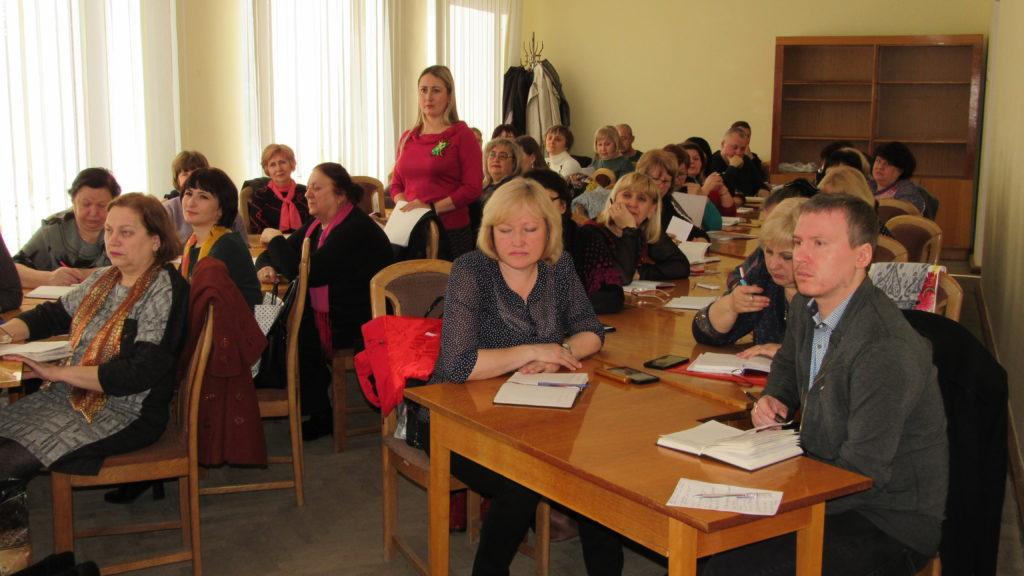 Юрий Нестеренко встретился с председателями и активистами первичных отделений ОД «Мир Луганщине» в Стаханове 1