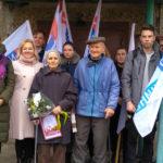 В Алчевске состоялась акция «Салют ветерану»