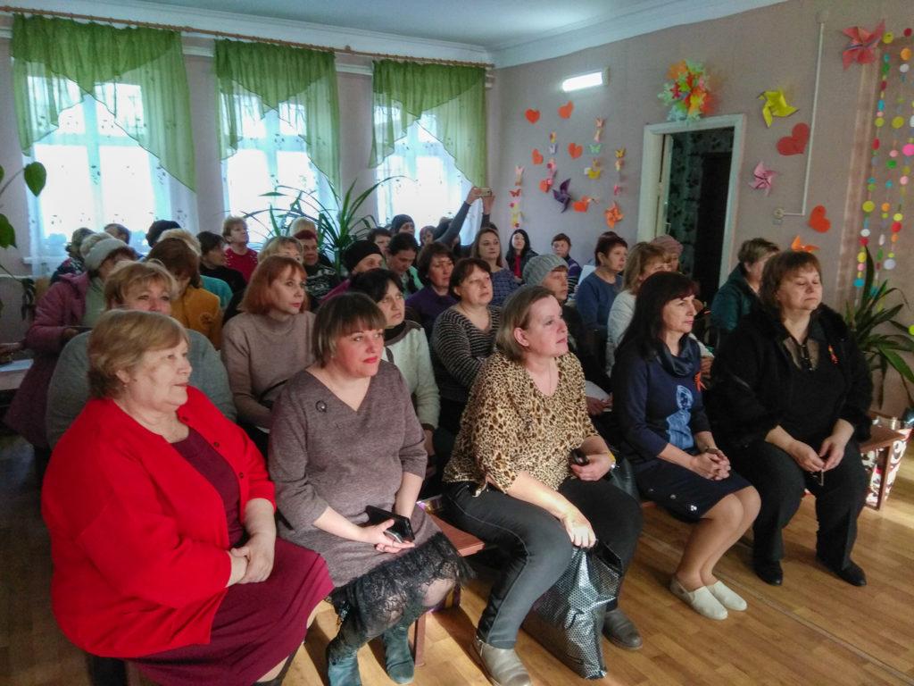 Руководитель исполкома Стахановского теротделения ОД «Мир Луганщине» провел встречу с соцработниками 1