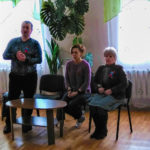 Руководитель исполкома Стахановского теротделения ОД «Мир Луганщине» провел встречу с соцработниками
