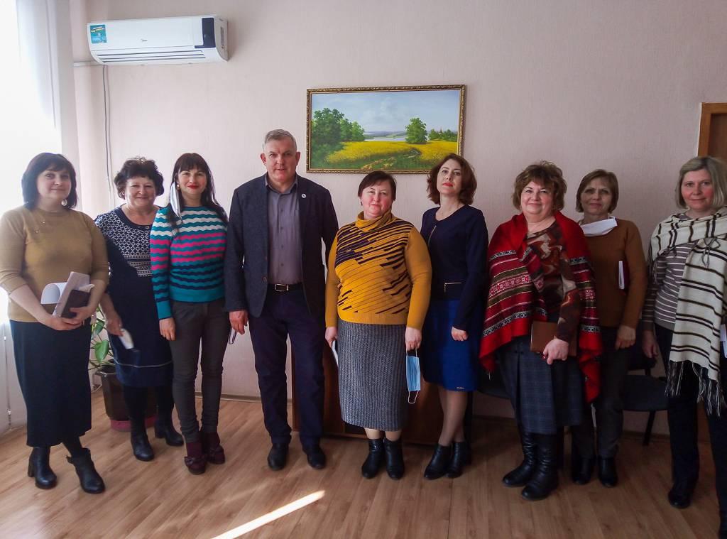 В Краснодоне состоялась встреча с активом первичного отделения