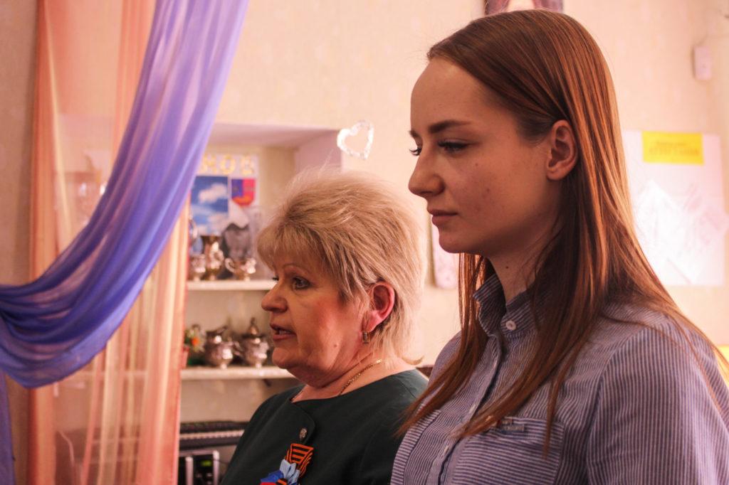 Активисты проекта «Волонтер» посетили центр социальной реабилитации детей-инвалидов в Стаханове 5