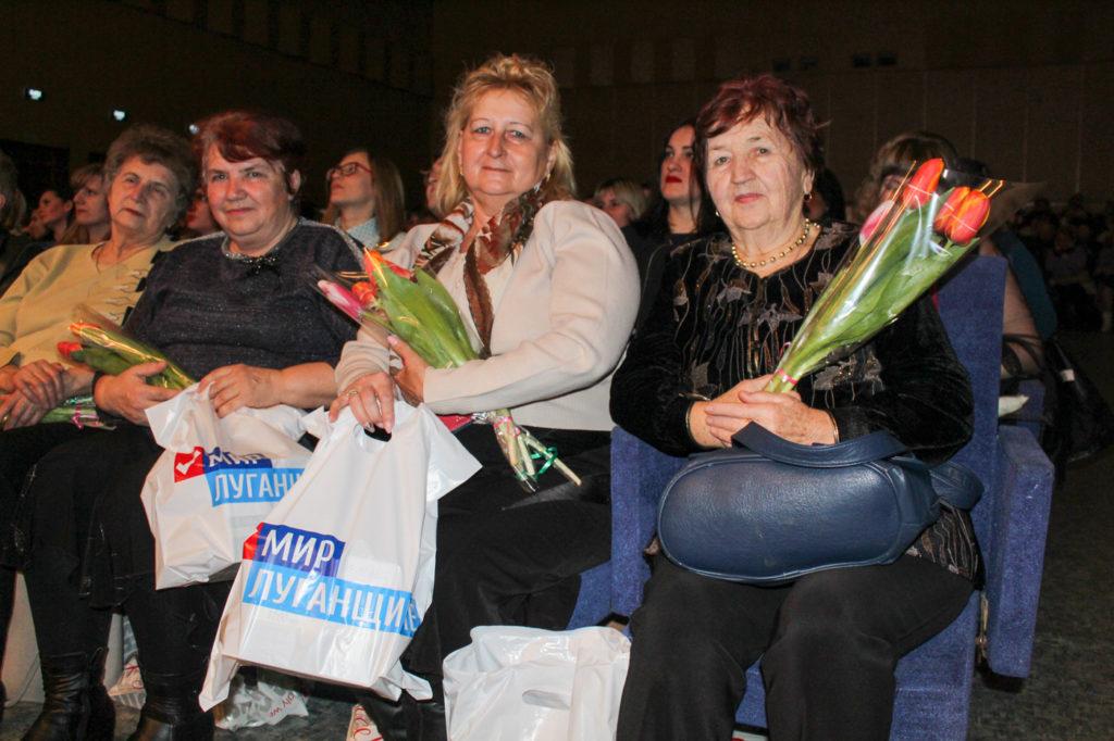 Активисты ОД «Мир Луганщине» отметили Международный женский день в Славяносербске 7
