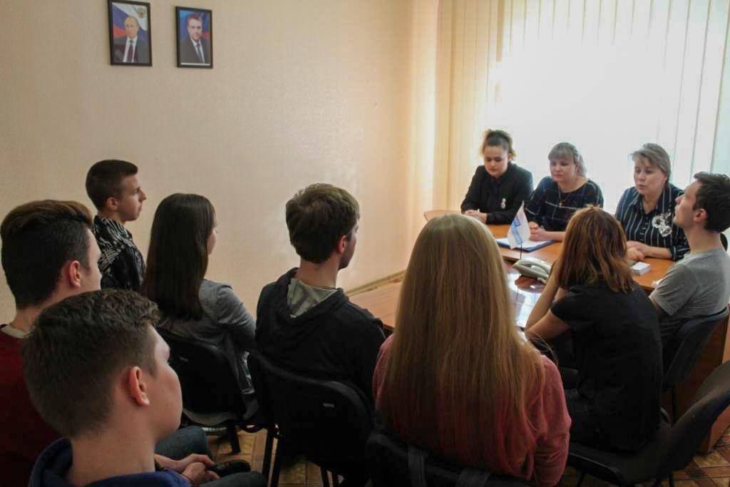Встреча активистов с членами Молодёжного Парламента состоялась в Алчевске 1