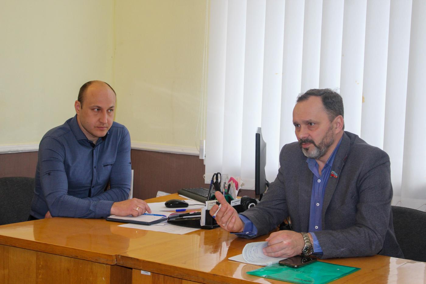 В Славяносербске прошла встреча с активом первичного отделения ОД «Мир Луганщине»