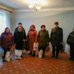 В Брянке активисты проекта «Волонтёр» выдали помощь жителям прифронтовых территорий