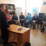 Депутат Народного Совета ЛНР встретился с работниками центра социальной службы в Стаханове