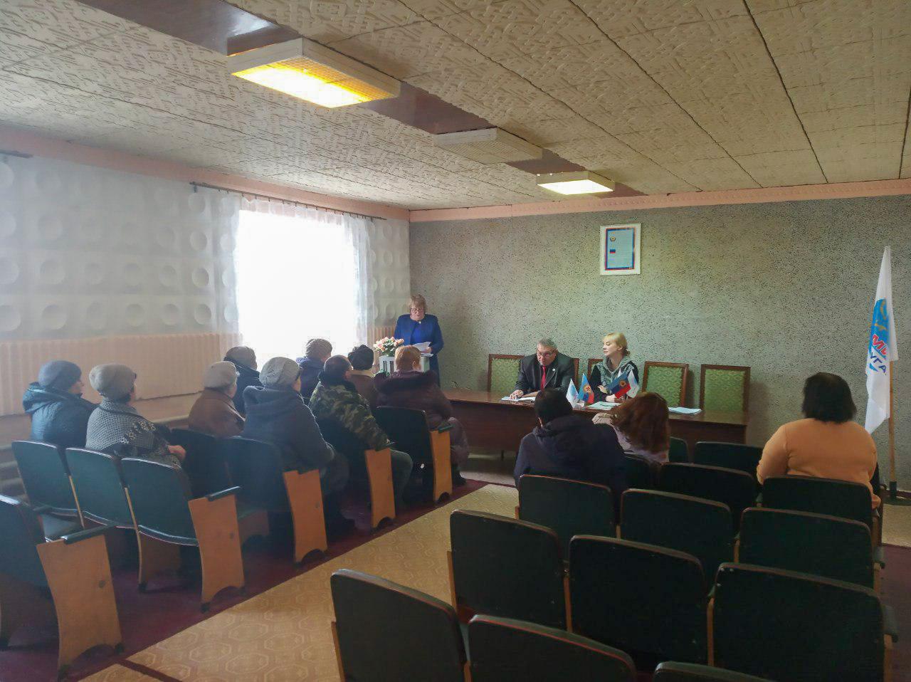 В посёлке Запрожье прошла встреча с активистами ОД «Мио Луганщине»