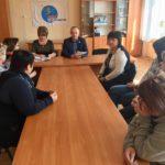 Павел Зайко встретился с активистами села Роскошное