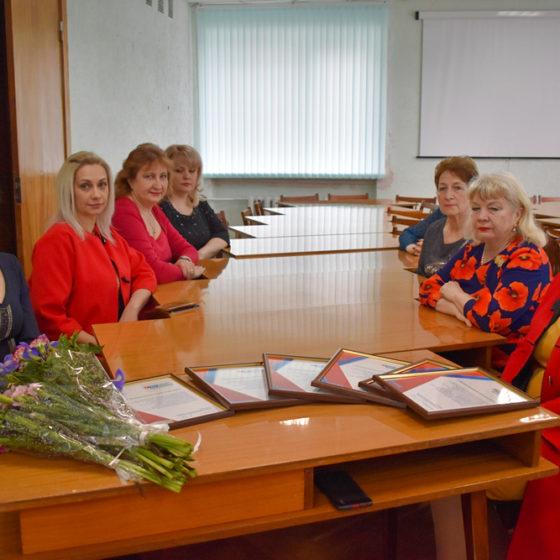 В Брянке поздравили представительниц разных профессий с Международным женским днем 1