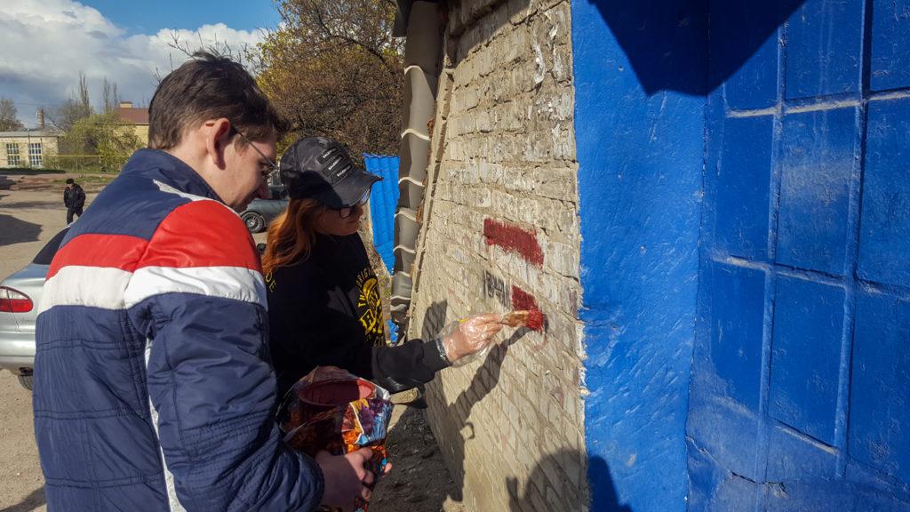 Активисты ОД «Мир Луганщине» приняли участие в акции «Стоп наркотикам!» в Краснодоне 2