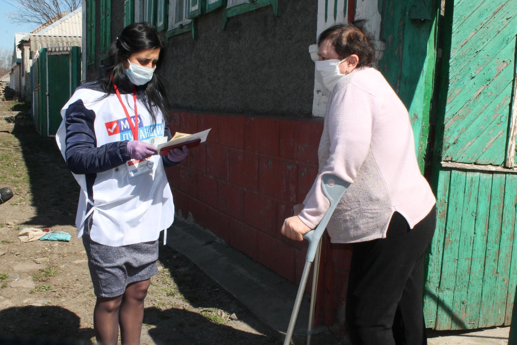 С заботой о гражданах республики – депутаты Народного Совета ЛНР участвуют в акции «Рука помощи» 2