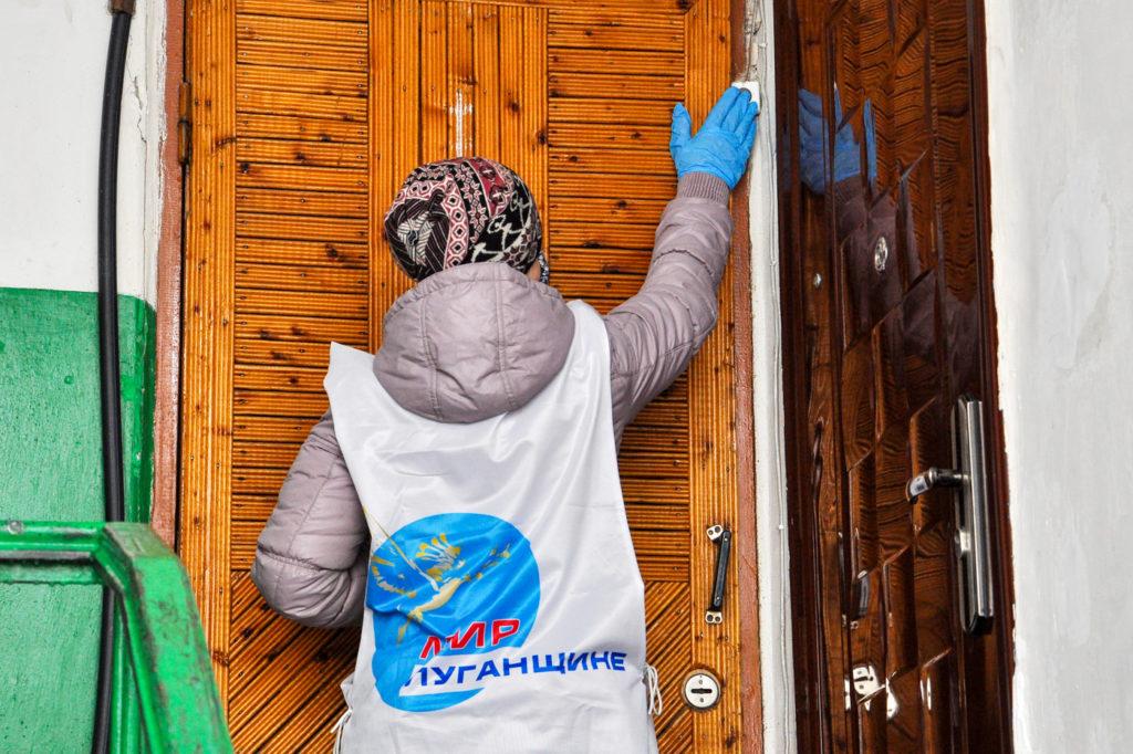 В Свердловске волонтёры помогли в рамках акции «Рука помощи» 1