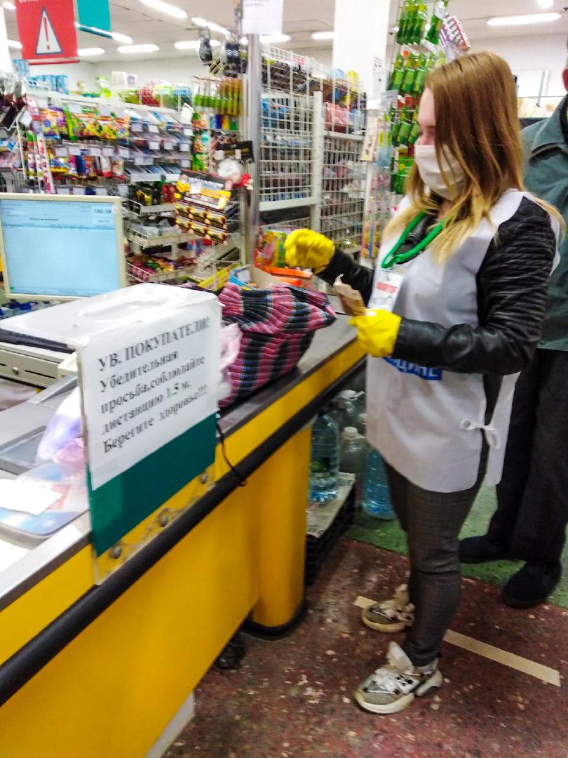 В Первомайске помогли жительнице города 1