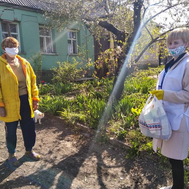 Волонтёры Луганска помогли пяти жителям города 2